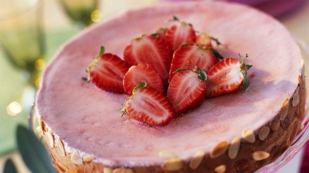 Backrezept: Erdbeertorte eignet sich bestens als Dessert
