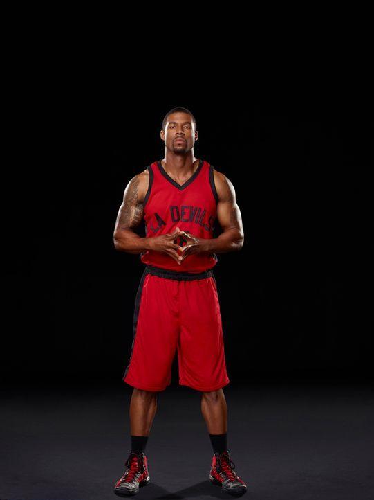 (1. Staffel) - Indem er eine Cheerleaderin datet, setzt sich der Basketball-Star Terrence Wall (Robert Christopher Riley) über die Regeln hinweg. Do... - Bildquelle: 2013 Starz Entertainment LLC, All rights reserved