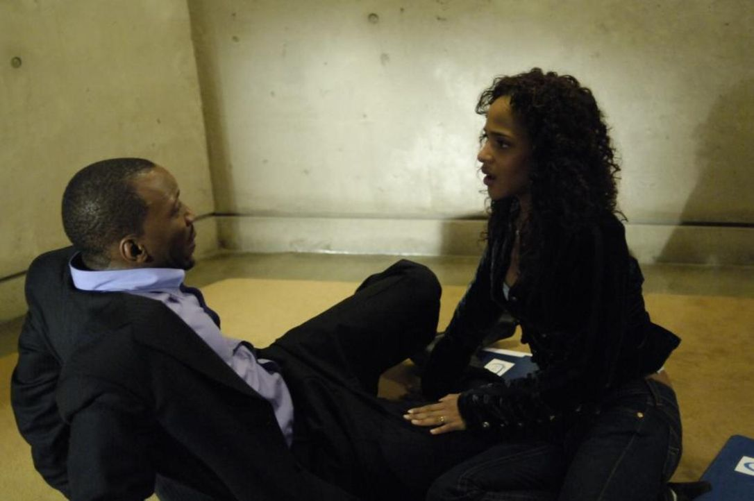 Als Richard (Mahershalalhashbaz Ali, l.) erneut versucht, mit Isabelle (Megalyn Echikunwoke, r.) zu sprechen, gibt sie ihm zu verstehen, dass er ihr... - Bildquelle: Viacom Productions Inc.