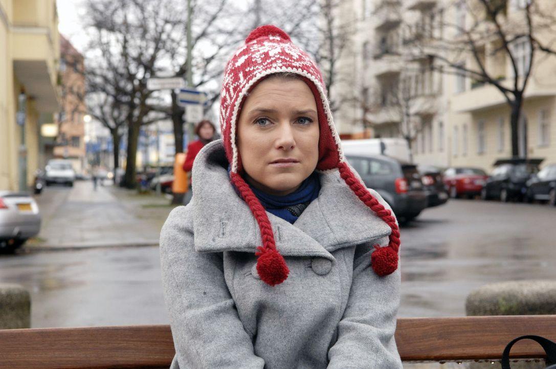 Anna (Jeanette Biedermann) ist enttäuscht ... - Bildquelle: Oliver Ziebe Sat.1