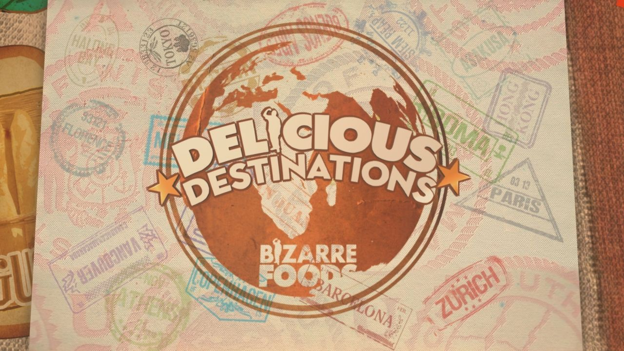 BIZARRE FOODS: DELICIOUS DESTINATIONS - Logo - Bildquelle: 2014,The Travel Channel, L.L.C. All Rights Reserved