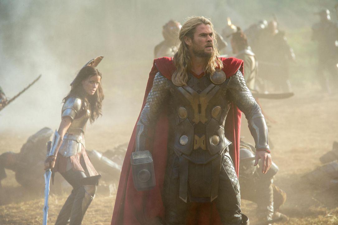 Thor bekommt weibliche Verstärkung - Bildquelle: TM & © 2013 Marvel & Subs
