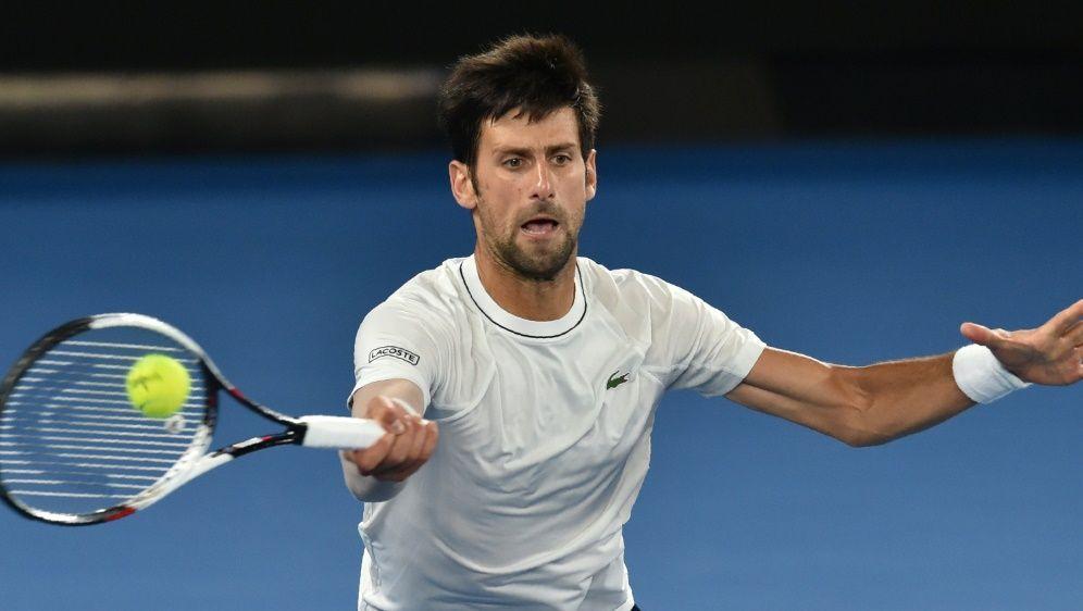 Superstar Novak Djokovic noch nicht bei 100 Prozent - Bildquelle: AFPSIDPAUL CROCK