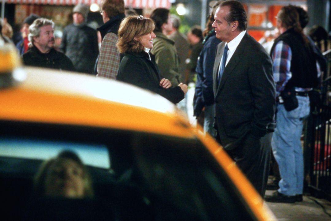 Hat ihre Liebe eine Chance?: Harry (Jack Nicholson, r.) und Erica (Diane Keaton, l.) ... - Bildquelle: Warner Bros. Pictures