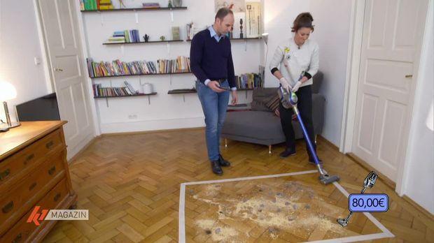 k1 magazin video staubsaugen ohne l stiges kabel akkusauger im test 7tv. Black Bedroom Furniture Sets. Home Design Ideas