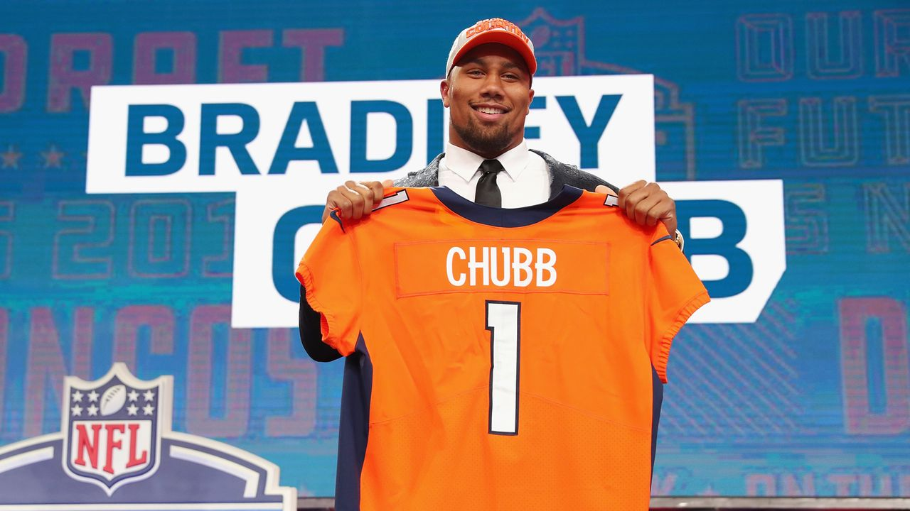 7. Bradley Chubb (Denver Broncos) - Bildquelle: 2018 Getty Images