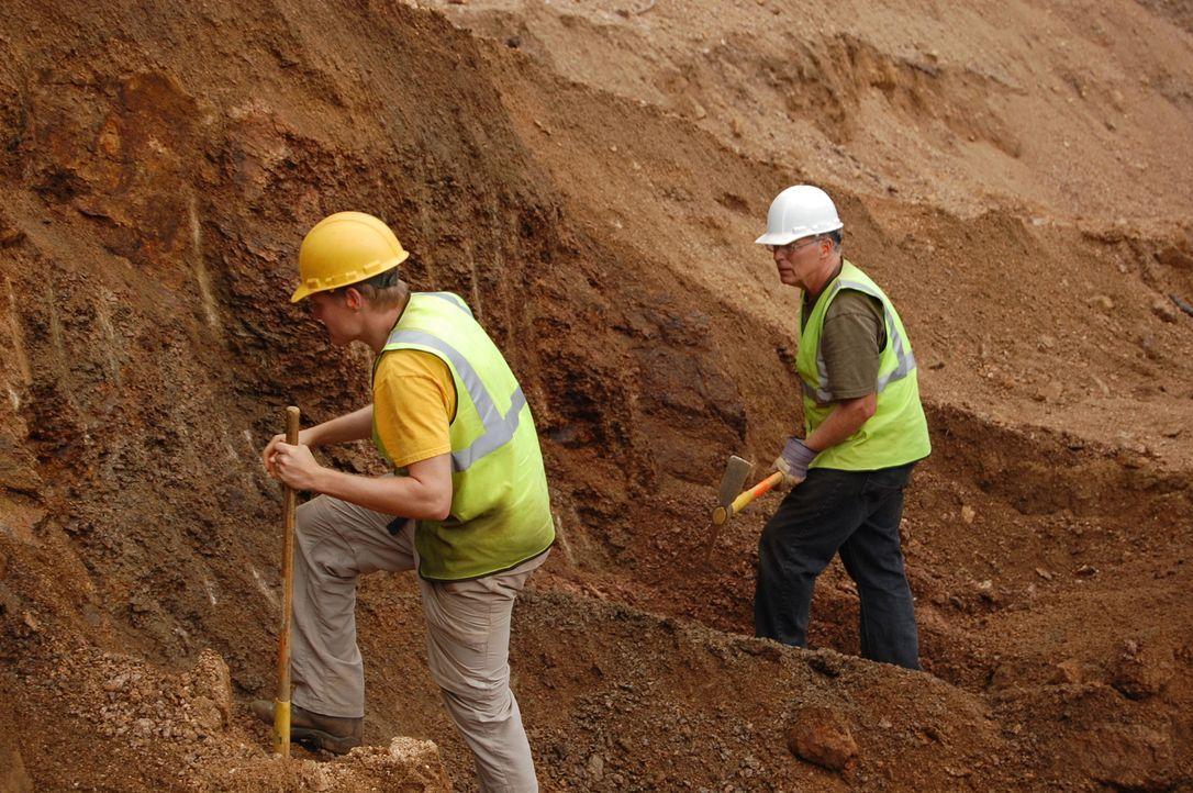 Während die Dorris Familie seit Jahren auf der Suche nach dem großen Fund ist, macht Dwaynes Kumpel gleich bei seiner ersten Suche eine erstaunliche... - Bildquelle: High Noon Entertainment 2014