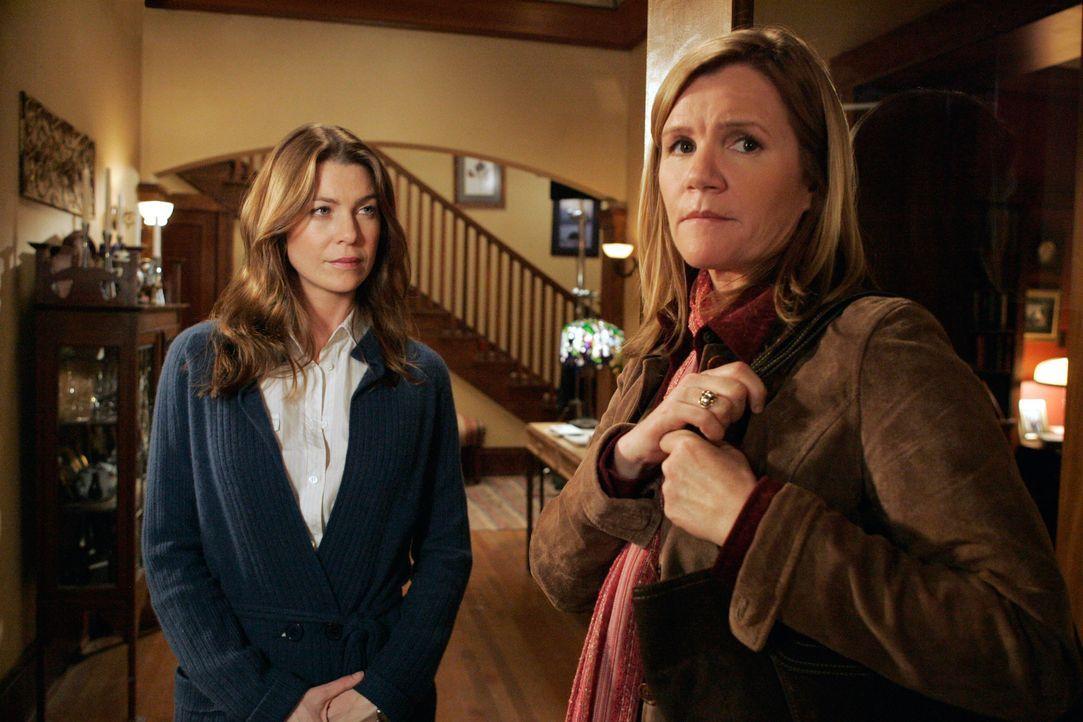 Von der Vergangenheit eingeholt: Meredith (Ellen Pompeo, l.) und Susan (Mare Winningham, r.) ... - Bildquelle: Touchstone Television