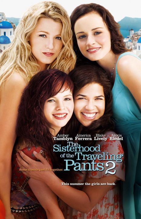 THE SISTERHOOD OF THE TRAVELING PANTS 2 - Plakatmotiv - Bildquelle: Warner Bros. Television
