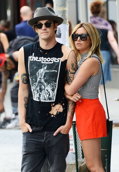 Ashley-Tisdale-Christopher-French-140730-WENN-com - Bildquelle: WENN.com