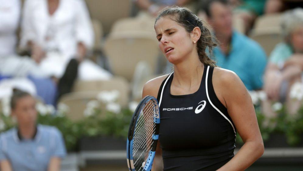 Görges unterlag der Serbin Olga Danilovic - Bildquelle: AFPSIDTHOMAS SAMSON