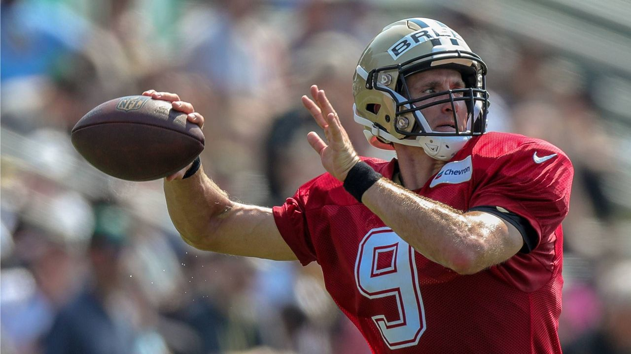 Platz 5: Drew Brees (New Orleans Saints) - Bildquelle: Imago