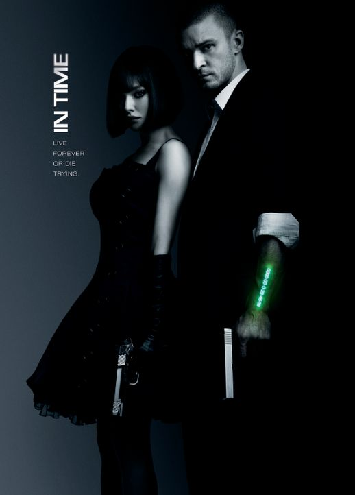 In Time - Plakatmotiv - Bildquelle: 2011 Twentieth Century Fox Film Corporation. All rights reserved.
