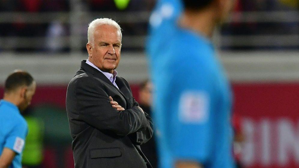 Stange ist nicht mehr Nationaltrainer Syriens - Bildquelle: AFPSIDGIUSEPPE CACACE