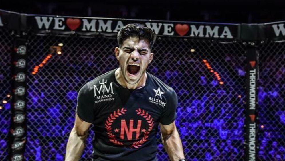 Nasrat Haqparast nimmt Kurs auf die UFC - Bildquelle: We Love MMA/Foto Seven Sport