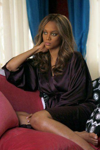 Auch ein Model ist eine Schauspielerin: Tyra Banks bei Gossip Girl - Bildquelle: Warner Bros.