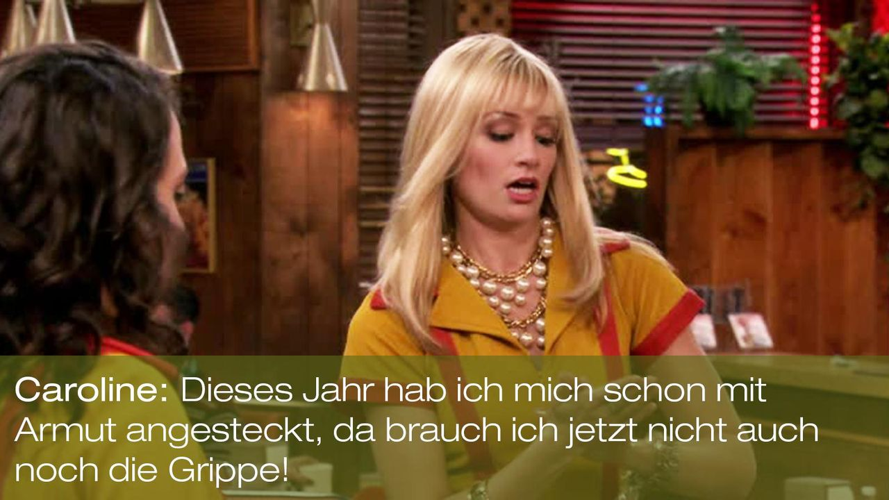 zitat-quote-spruch-2-broke-girls-episode-17-ehrenjuedin-caroline-channing-beth-behrs-armut-warnerpng 1600 x 900 - Bildquelle: Warner Brothers Entertainment Inc.