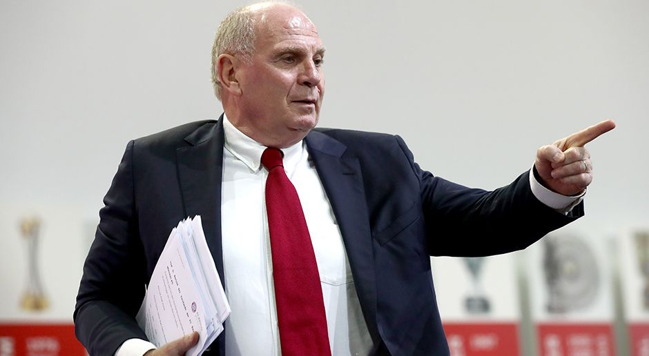 Manager: Uli Hoeneß - Bildquelle: 2017 Getty Images