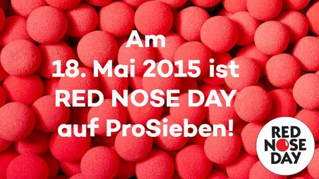 18. Mai Red Nose Day
