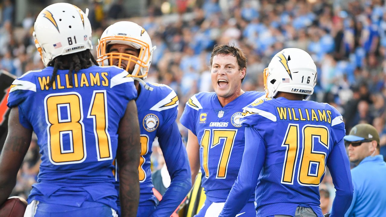 Gewinner: Philip Rivers und die Chargers - Bildquelle: 2018 Getty Images