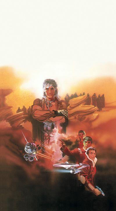 Im 23 Jahrhundert: Die Besatzung des Raumschiffes `Enterprise` wird auf einem Routineflug von dem rachsüchtigen Bösewicht Khan überfallen, der au... - Bildquelle: Paramount Pictures