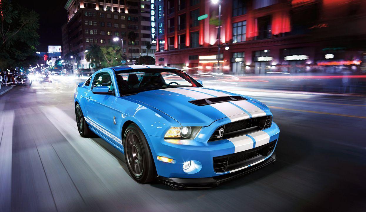 2014er Mustang Shelby GT500 (11) - Bildquelle: © 2013 Ford Motor Company