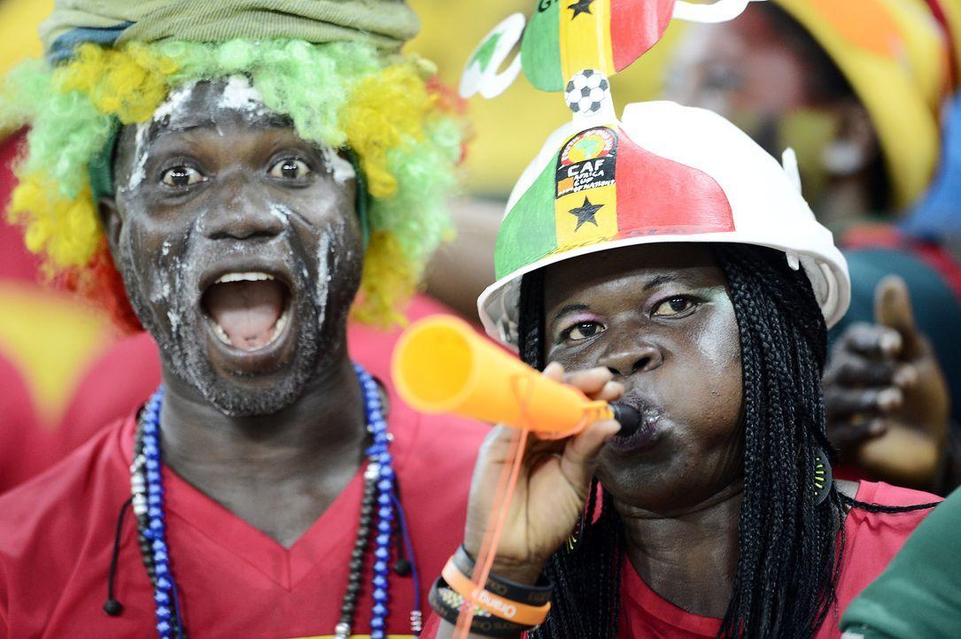 Fussball-Fans-Ghana-130206-AFP - Bildquelle: AFP