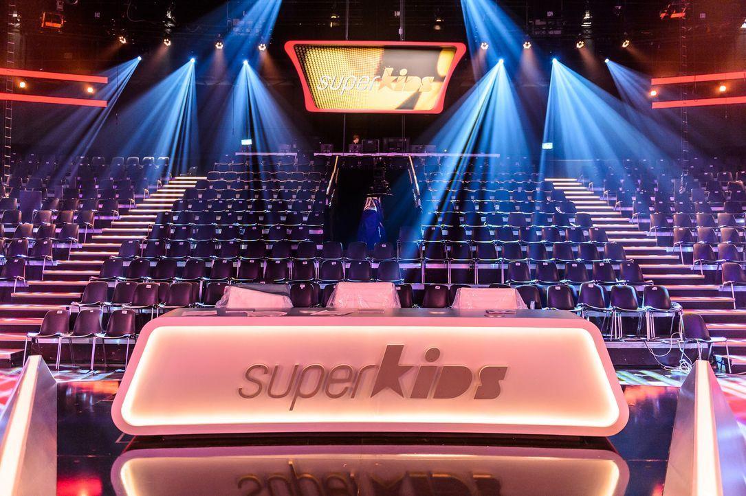 Das Studio von Superkids - Bildquelle: SAT.1