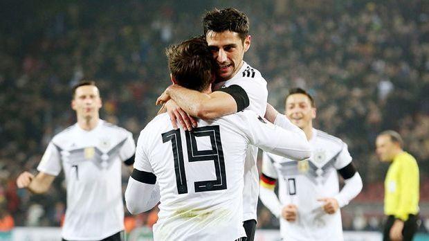 Last-Minute-Remis für DFB-Elf gegen Frankreich