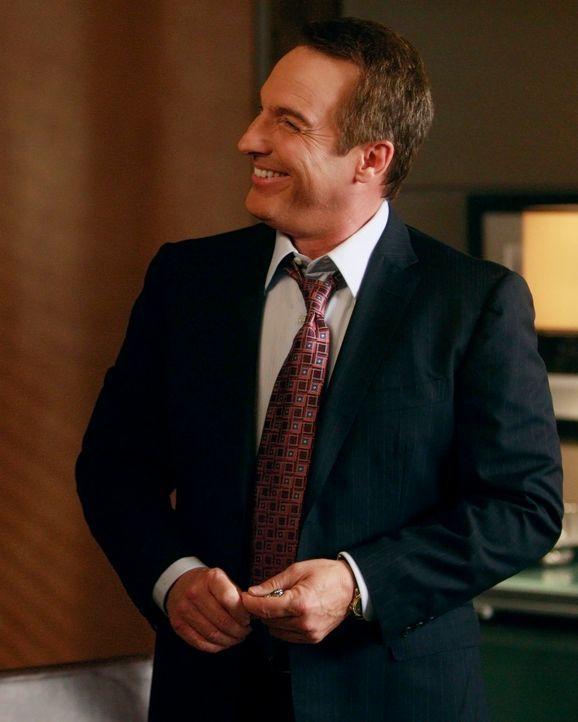 Erfährt, dass Amelia gekündigt hat und macht sich daraufhin große Sorgen um sie: Sheldon (Brian Benben) ... - Bildquelle: ABC Studios