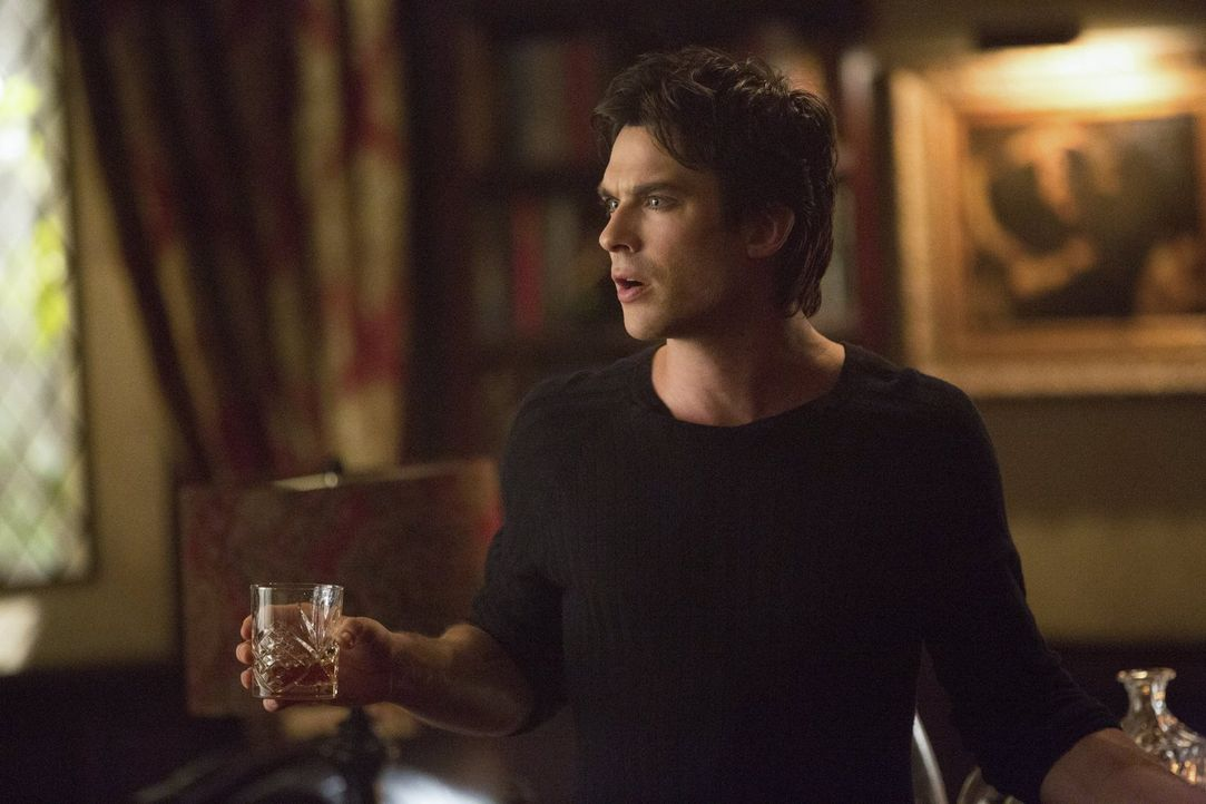 Damon (Ian Somerhalder) hat zusammen mit seinem Vampirbruder Stefan, Elena in ihren Keller eingesperrt. Angeblich nur zu ihrem eigenen Wohl. Oder ha... - Bildquelle: Warner Brothers