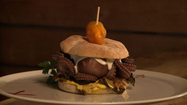 KW 18 ALTNE Skurrile Burger  Oktopus-Burger