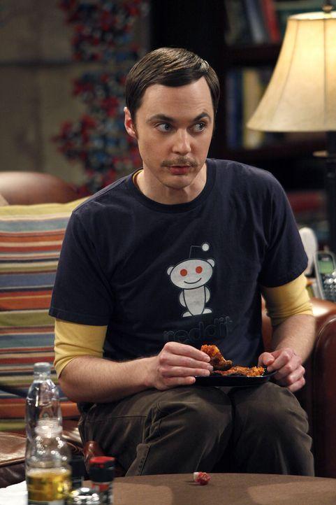 Während Penny eine Freundin für Raj sucht, fällt Sheldon (Jim Parsons) läppische Alltagsentscheidungen mit Dungeons & Dragons Würfeln ... - Bildquelle: Warner Bros. Television