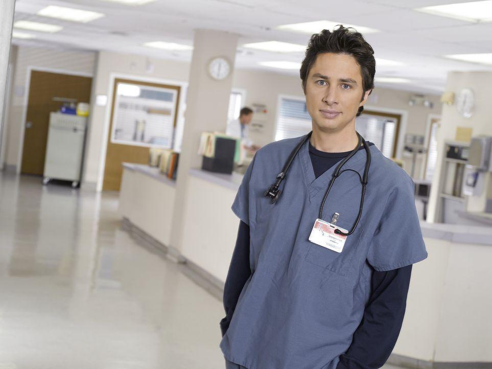 (7. Staffel) - Auf den engagierten Arzt J.D. (Zach Braff) warten neue Überraschungen ... - Bildquelle: Touchstone Television