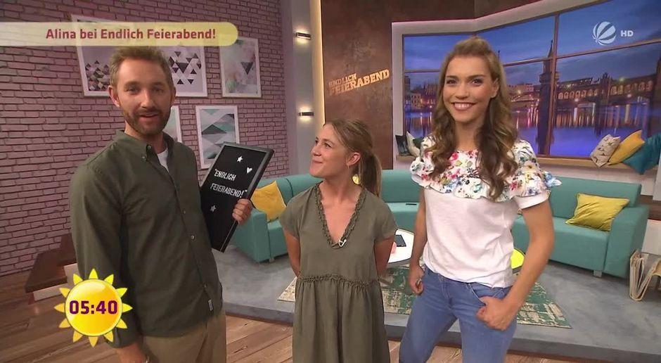 Frühstücksfernsehen Video Alina Hinter Den Kulissen Von Endlich
