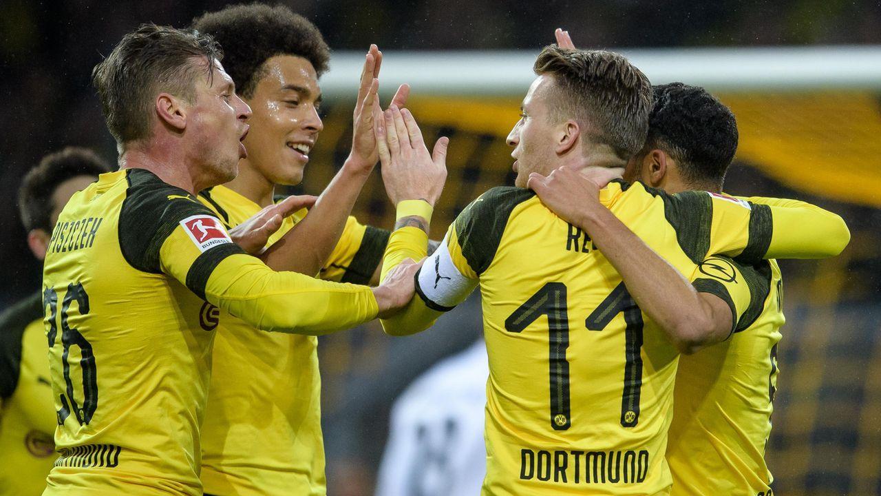 Platz 3 - Borussia Dortmund - Bildquelle: Bongarts/Getty Images