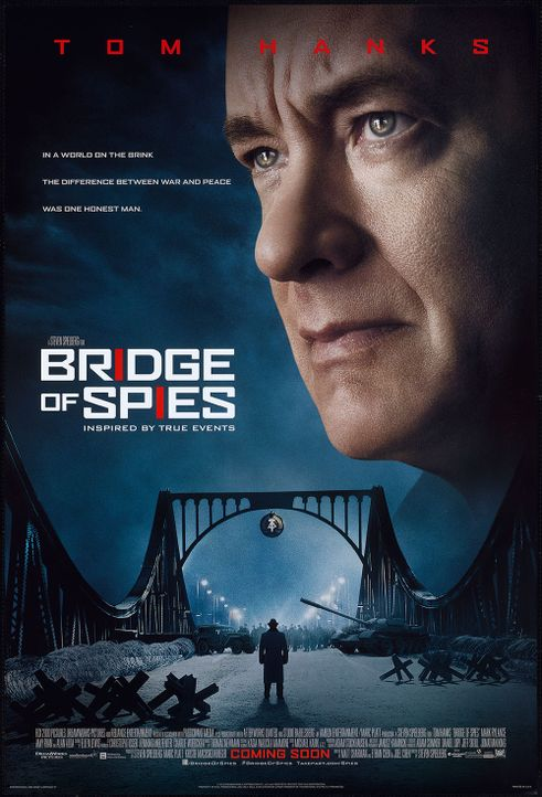 "1. Bridge of Spies. Tom Hanks spielt in ""Bridge of Spies"" ein... - Bildquelle: Twentieth Century Fox Film Corporation."