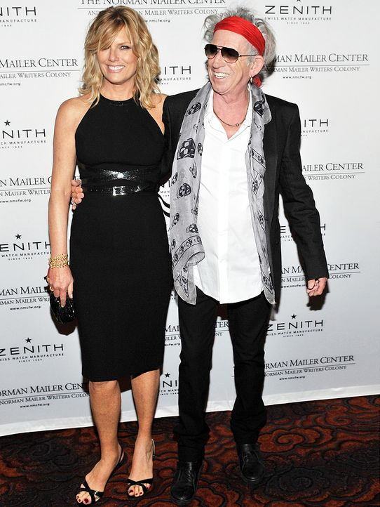 Keith-Richards-Patti-Hansen-11-11-08-getty-AFP - Bildquelle: getty-AFP