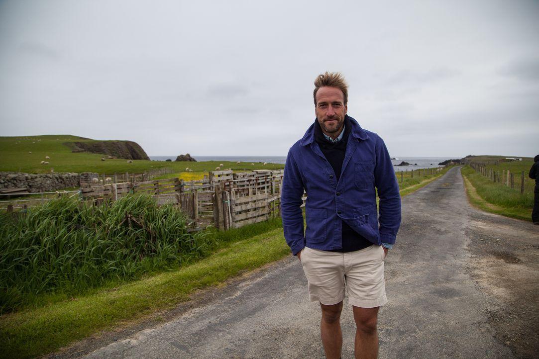 Eine Landschaft ganz nach seinem Geschmack: Abenteurer Ben Fogle ... - Bildquelle: Jo Young 2015 BBC / Renegade Pictures