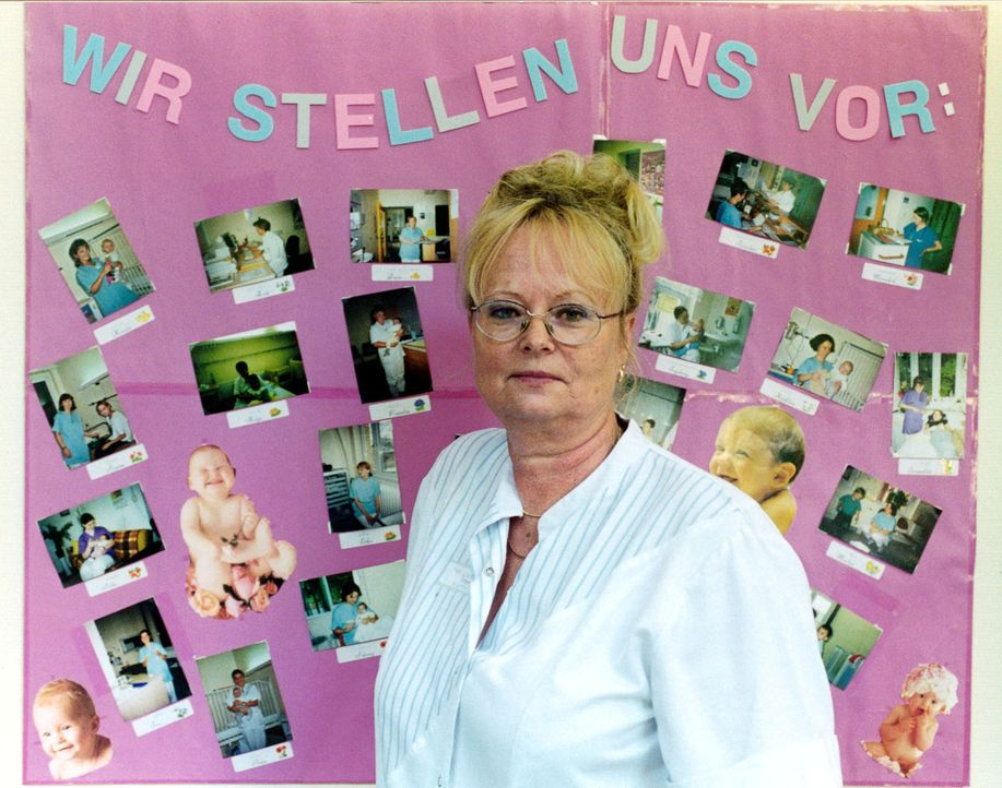 Im Krankenhaus Lichtenberg in Berlin ist Brigitte (Bild) alsSchwester in der Kinderklinik Lindenhof tätig ... - Bildquelle: SAT.1