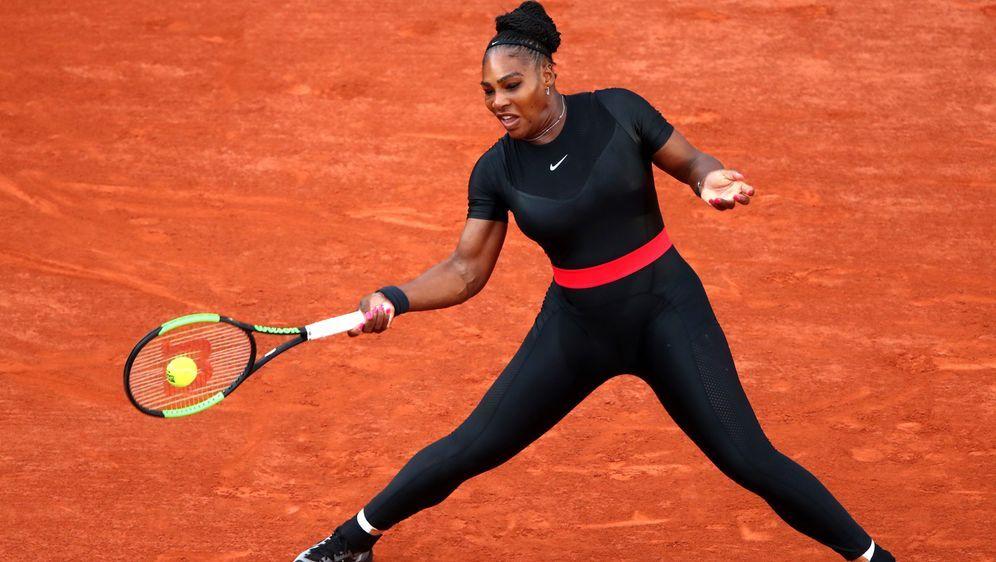 Williams muss bei den French Open auf Catsuit verzichten - Bildquelle: Getty Images