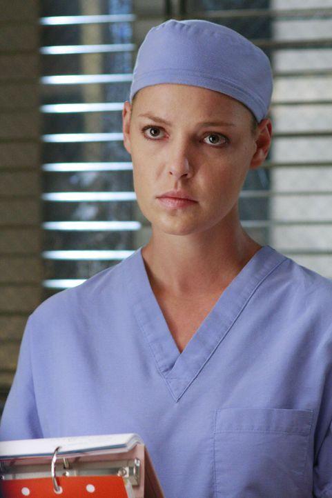 Hofft darauf, dass endlich wieder etwas zu tun ist: Izzie (Katherine Heigl) ... - Bildquelle: Touchstone Television