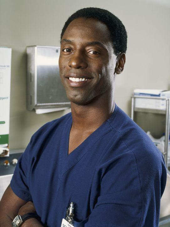 (1. Staffel) - Der überhebliche Oberarzt Dr. Preston Burke (Isaiah Washington) hat es auf die Neulinge abgesehen ... - Bildquelle: Touchstone Television