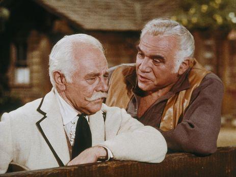 Bonanza - Der einst wohlhabende und jetzt verarmte Colonel Robert Fairchild (...