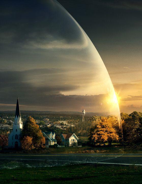 (1. Staffel) - Eines Tages wird die neuenglische Kleinstadt Chester's Mill von einer durchsichtigen und schalldichten Kuppel von der Außenwelt abge... - Bildquelle: 2013 CBS Broadcasting Inc. All Rights Reserved