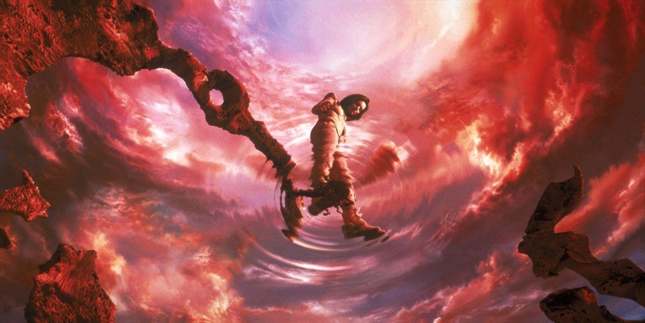 Die Wissenschaftlerin Aki Ross wird von schrecklichen Alpträumen geplagt ... - Bildquelle: 2003 Sony Pictures Television International. All Rights Reserved.