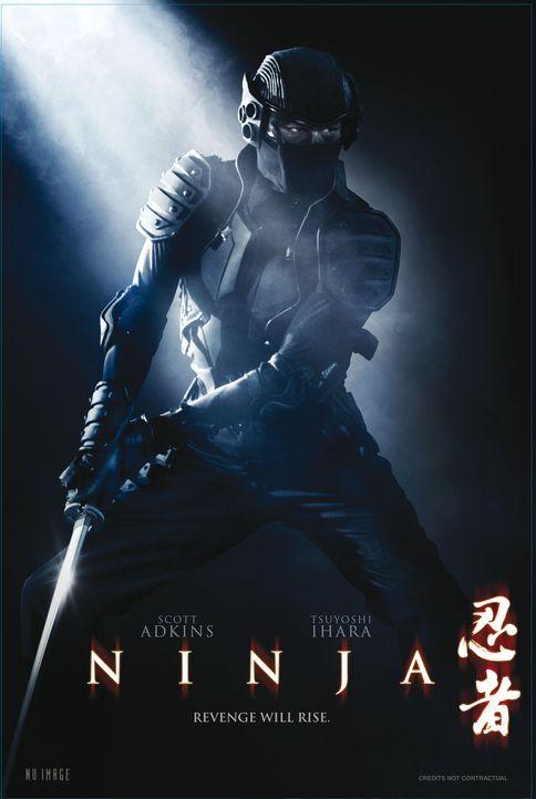 NINJA - REVENGE WILL RISE - Plakatmotiv - Bildquelle: Nu Image