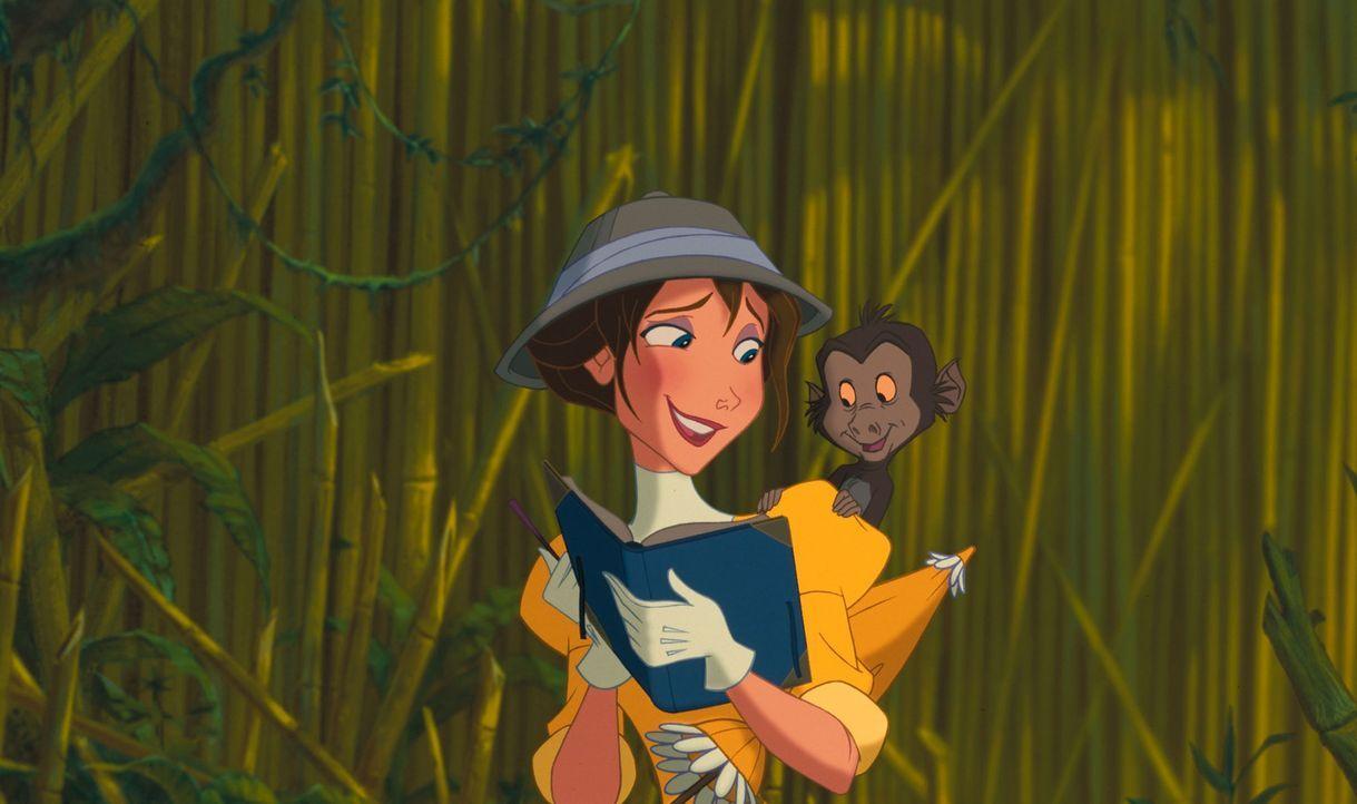 Schon bald verliert Jane ihr Herz rettungslos an Afrika, den Dschungel, die Affen - und Tarzan ... - Bildquelle: Edgar Rice Burroughs Inc. and Disney