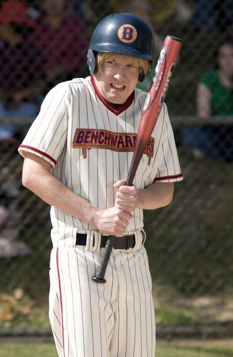 Richie (David Spade) steht mit dem Bat, dem Baseballschläger, offenbar noch auf Kriegsfuß ... - Bildquelle: Sony Pictures Television International. All Rights Reserved.
