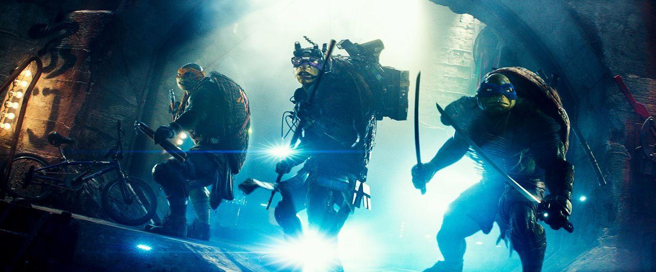 teenage-mutant-ninja-turtles-15-Paramount-Pictures - Bildquelle: Paramount Pictures